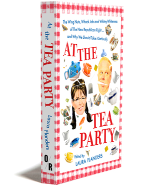 at the tea party