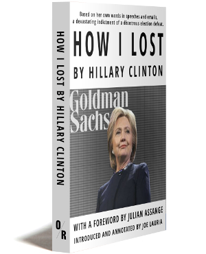 how I lost by hillary clinton cover
