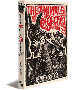 the animals' veganist manifesto cover