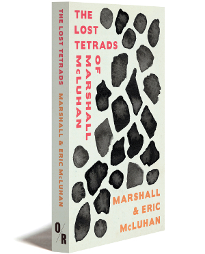 the lsot tetrads of marshall mcluhan cover