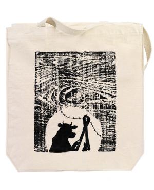 the animals vegan manifesto tote bag