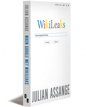 when google met wikileaks cover