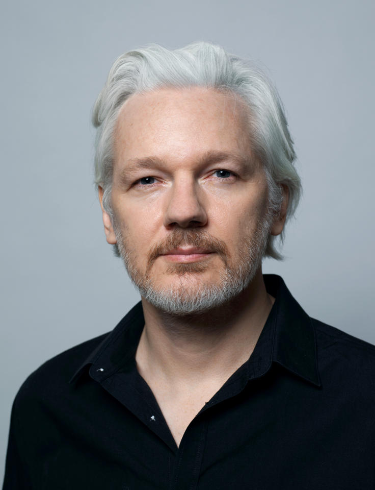 julian assange author photo
