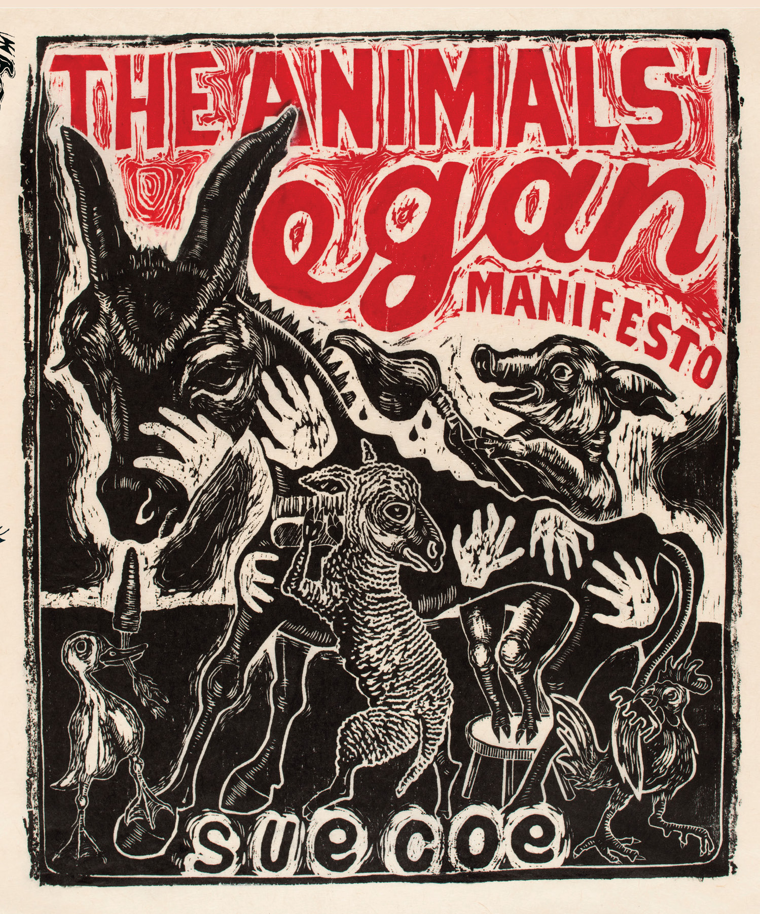 the animals vegan manifesto cover