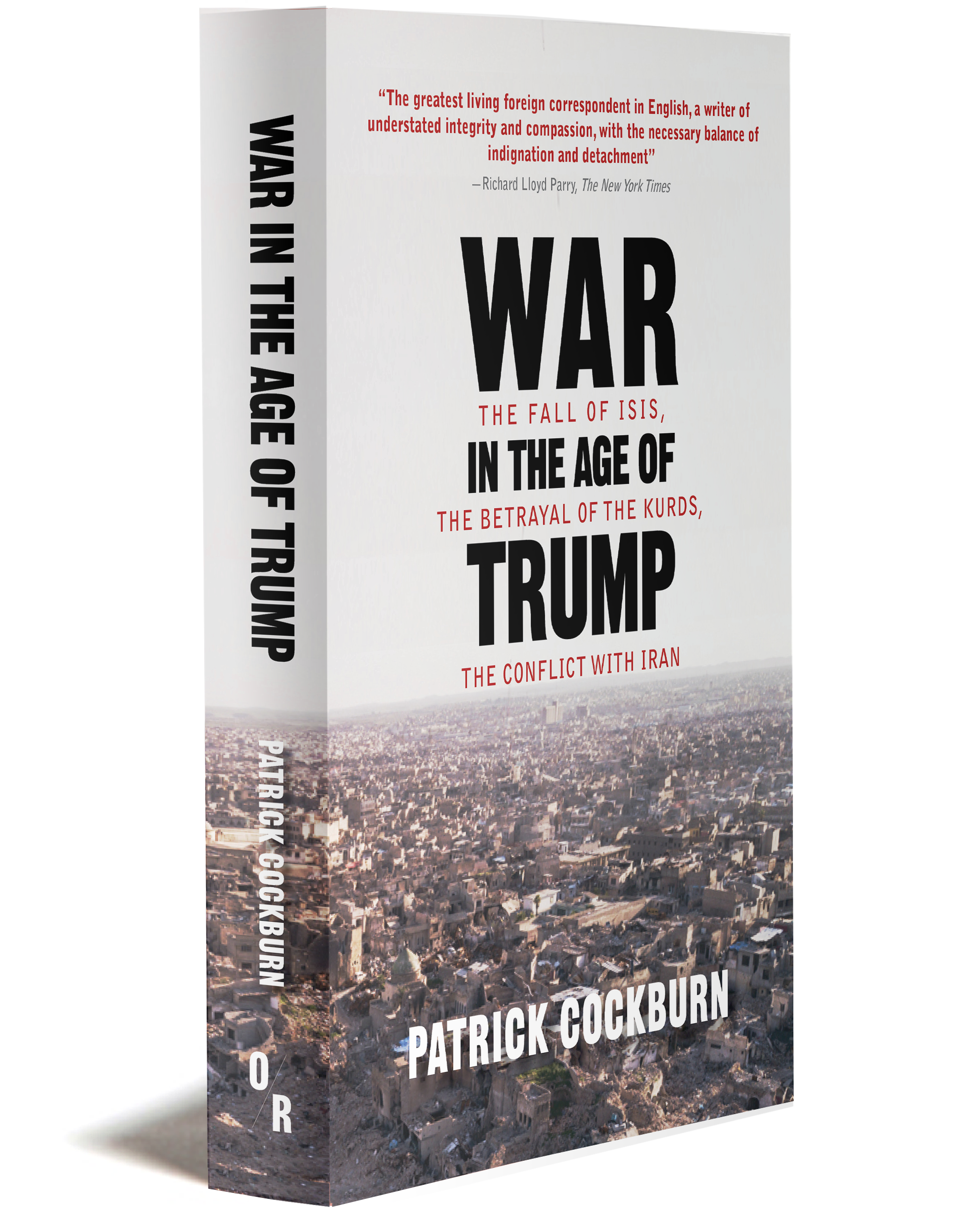 War in the age of Trump 3D cover