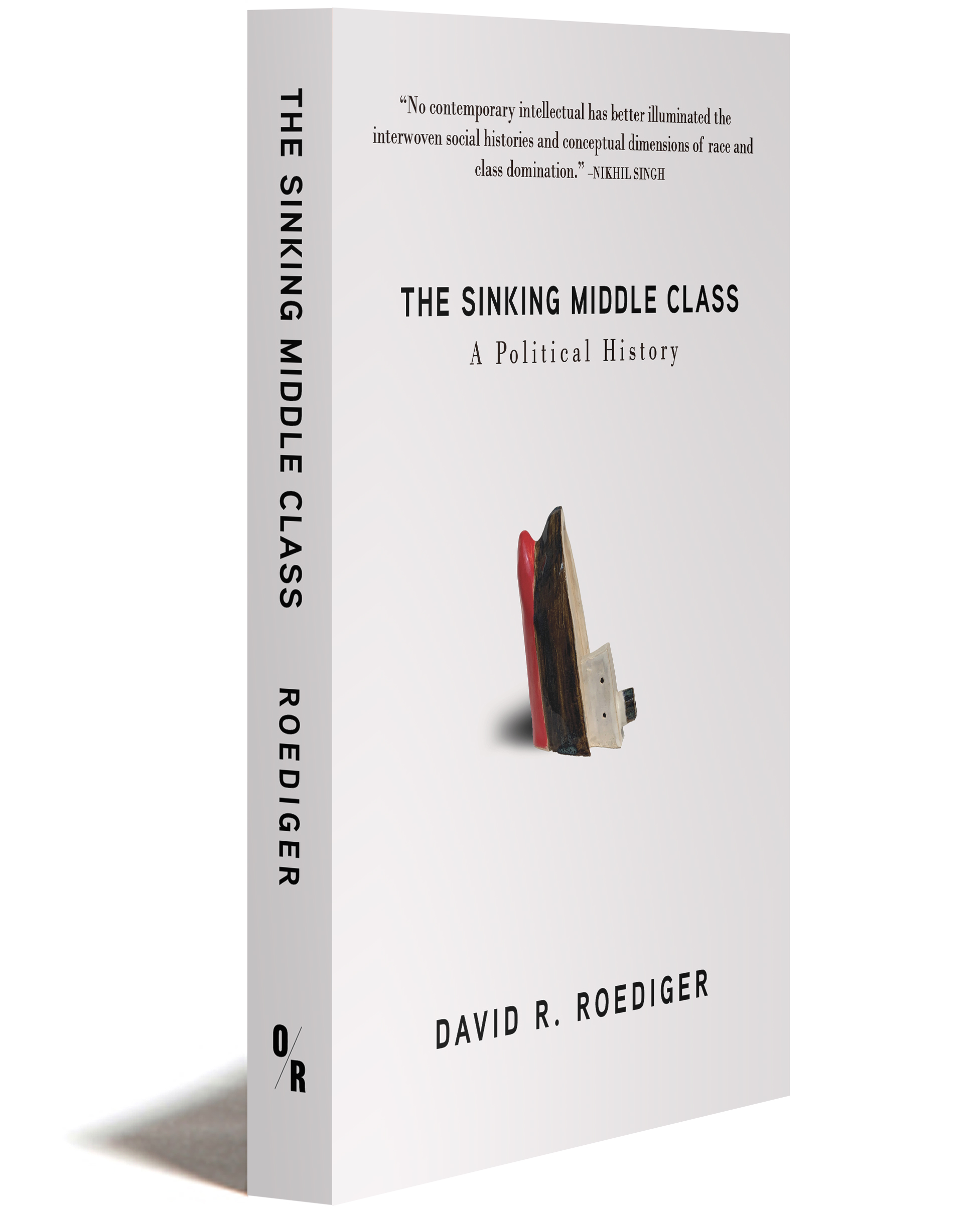 The Sinking Middle Class  3D cover
