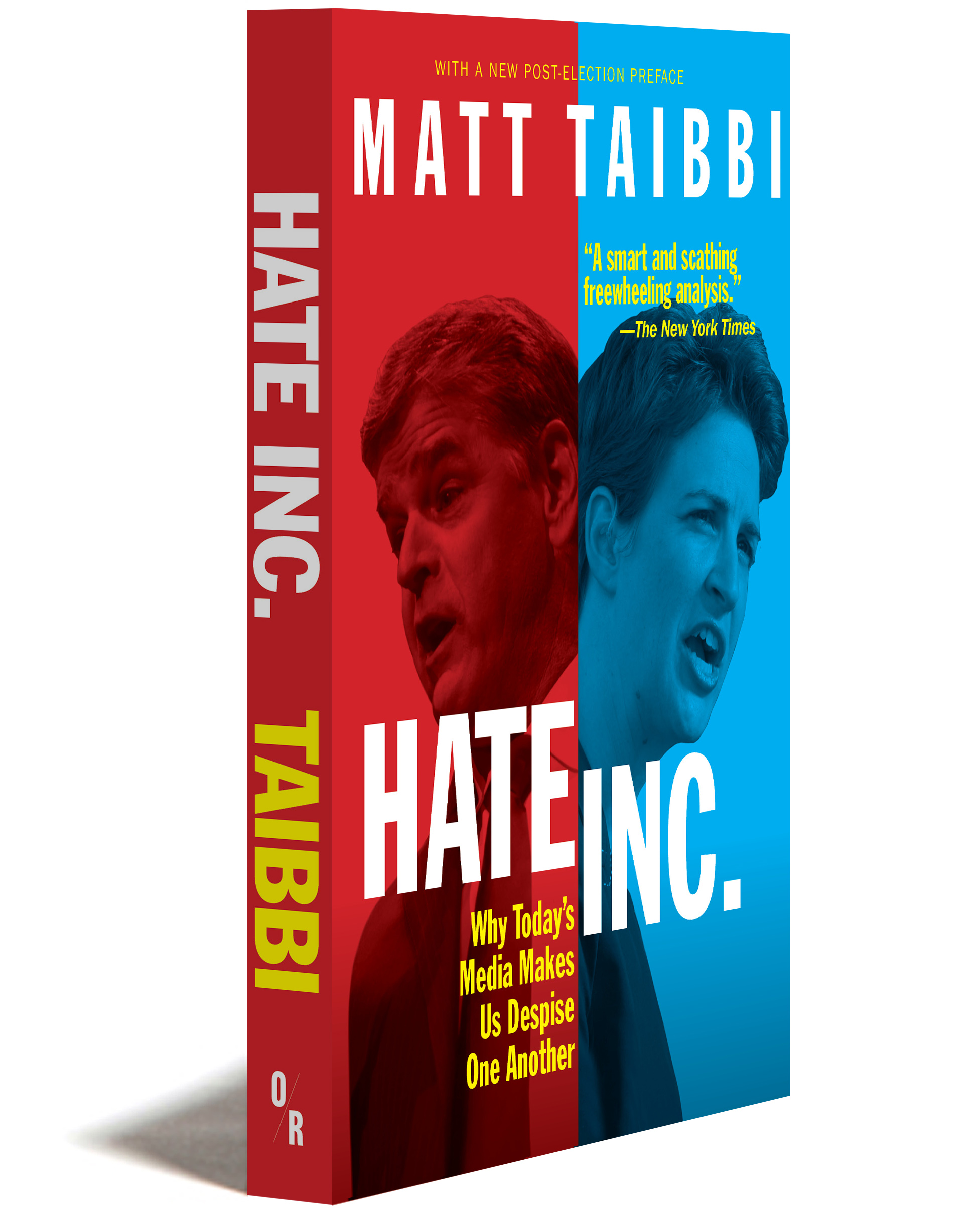 Hate Inc. 3D cover